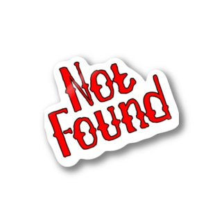 Not Found Stickers
