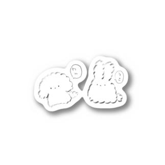 うさわん Stickers