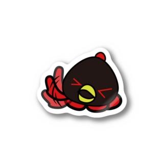 ブラックコスモ001 Stickers