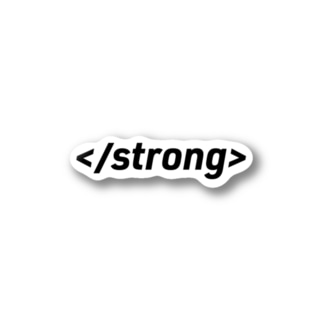 </strong> Stickers