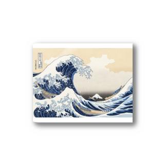 北斎 富獄三十六景 Stickers