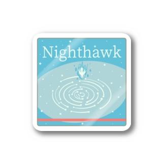 Night hawk Stickers