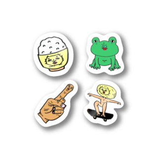 株式会社これからのムーンボーイのよくばり4枚セット 第一弾 Stickers