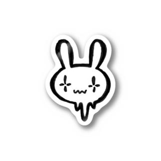 シンダウサギ ステッカー
