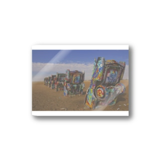 Cadillac Ranch Stickers