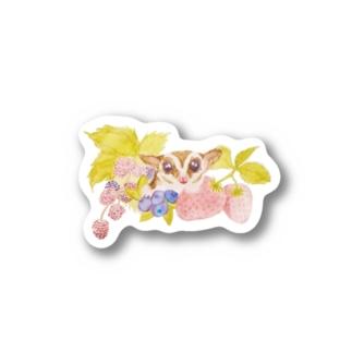 フクロモモンガVer.2 Stickers