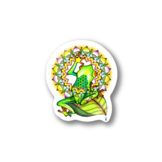 mandara × frog Sticker Stickers