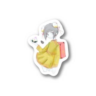 チャイナ子 Stickers