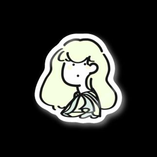 g256の綿菓子 Stickers