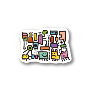 tahatorueのカタチたち(カラフル) Stickers