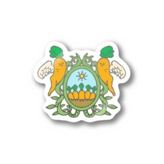 キャロフィールド紋 Stickers
