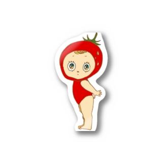 フラガリアアナナッサちゃん Stickers