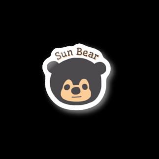 はらまきのマレーグマのマズくん Stickers