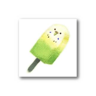 インコアイス(黄) Stickers