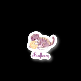 Fanfleecyのmeow meow(scottish fold) Stickers