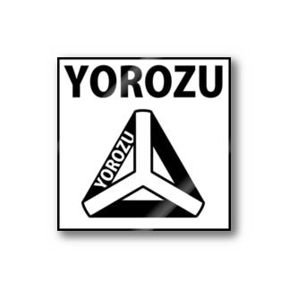 BUSSANのYOROZUYAのYOROZUステッカー Stickers