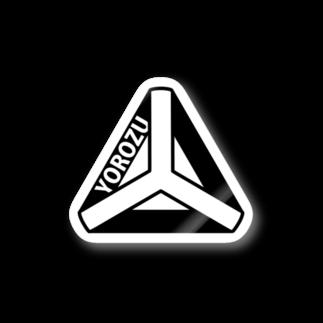 BUSSANのYOROZUYAのYOROZUテトラステッカー Stickers