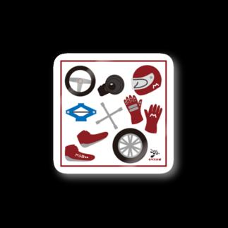 あるルートのドライバーズ・アイテム SQ Stickers