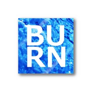 BURNステッカー Stickers