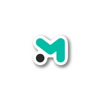 Mマーク ステッカー Stickers