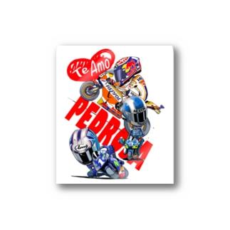 Te amo Pedrosa Stickers