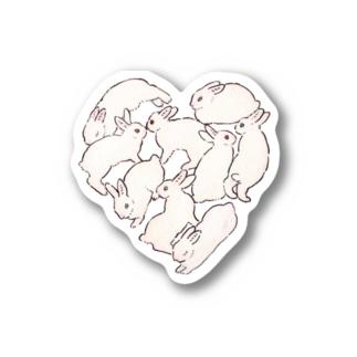 バニーハート Sticker