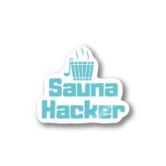 サウナハッカー Stickers