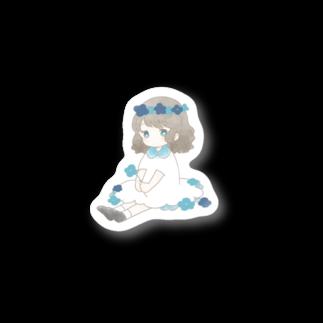 7soraのあお Stickers