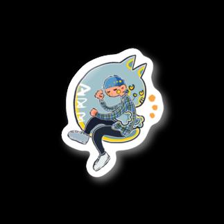 ふみふみ広場のおやすみねこちゃん Stickers