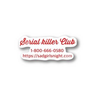 Serial killer   Stickers