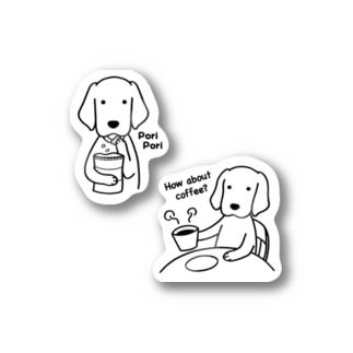 コーヒー&スナック Stickers