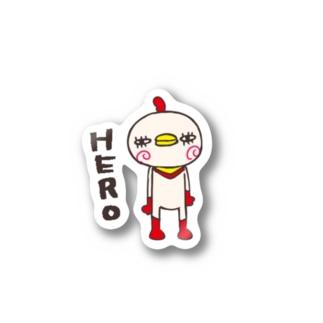 HERO Stickers