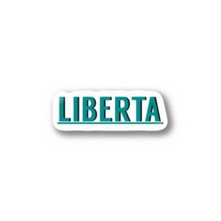liberta Stickers