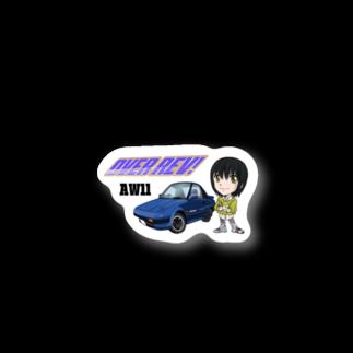 山口かつみのAW11涼子 Stickers