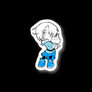 朝暮あいま/ぐれおの朝暮飛羽・ユルイノ/だっこ Stickers