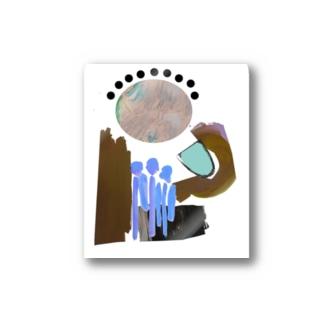 水あげ Stickers