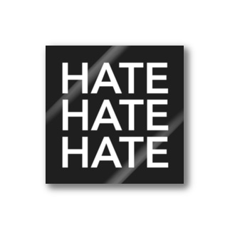 HATE  MY LIFE Stickers