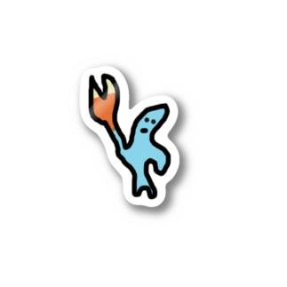 元ジャンケンキングのステッカー Stickers