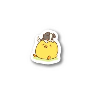ひよことライラ Stickers