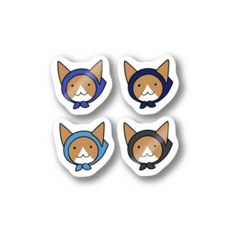 ねこ忍者 プチ Stickers