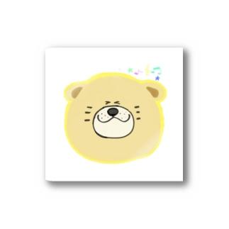 犬丸くんが、新譜を購入したときの笑み Stickers