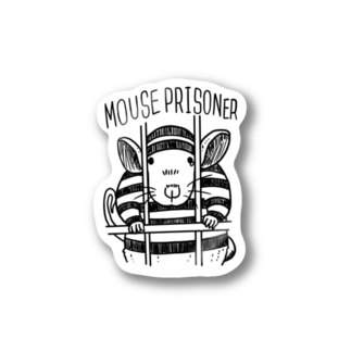 mouse prisoner Stickers
