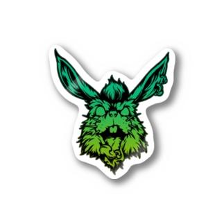 Heavy Rabbit ステッカー