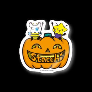 株式会社マニュアルプロダクションのStacchi 星野さん&ブル Happy Halloween Stickers