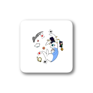 3月ウサギ Stickers