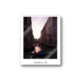 Ottobre. 09 / Venezia,italia Stickers