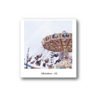 Oktober.01 / Munich,Germany Stickers