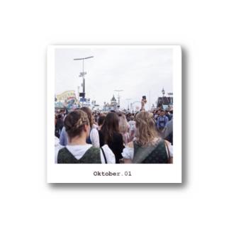 Oktober.01/Munich,Germany Stickers