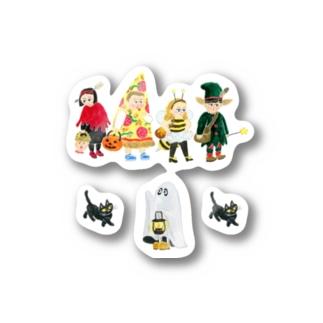 ハロウィンの夜に Stickers