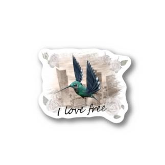 I love free Stickers